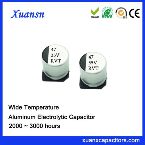 Hot Sale 47UF 35V V-Chip Standard Electrolytic Capacitor