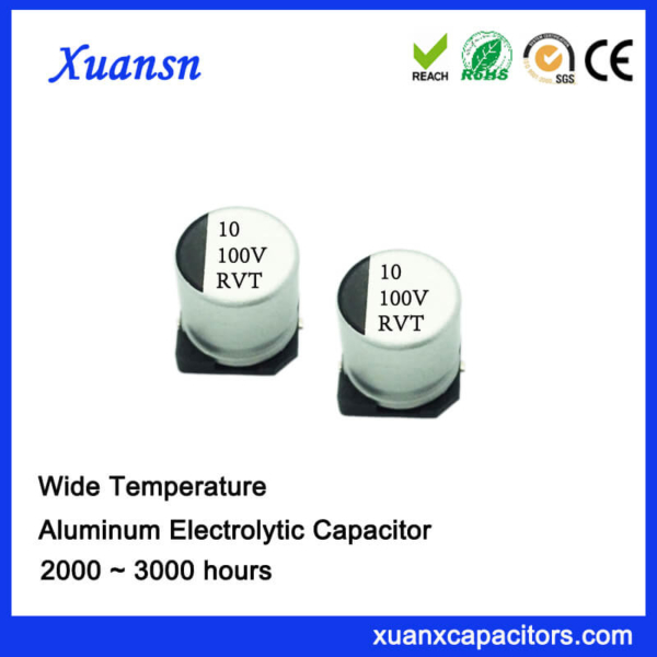 10UF 100V Standard SMD Aluminum Electrolytic Capacitor