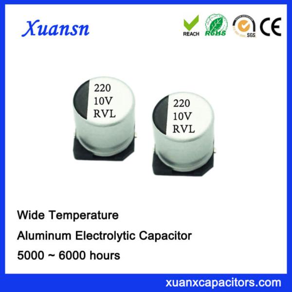 220UF 10V 5000Hours 105℃ SMD Capacitor Manufacturer