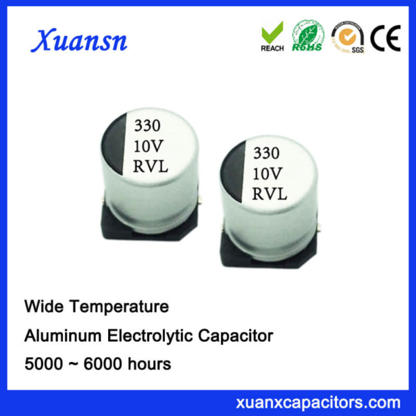 330UF 10V 10*10.2 5000Hours Long Life SMD Capacitor