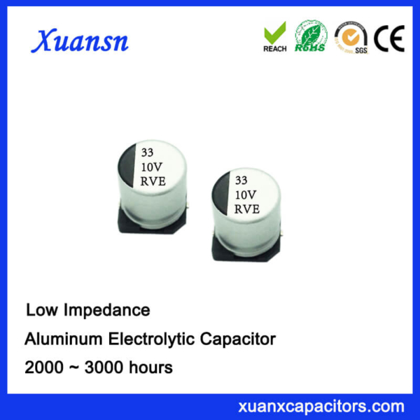 New 33UF 10V High Frequency Chip Capacitor Supplier