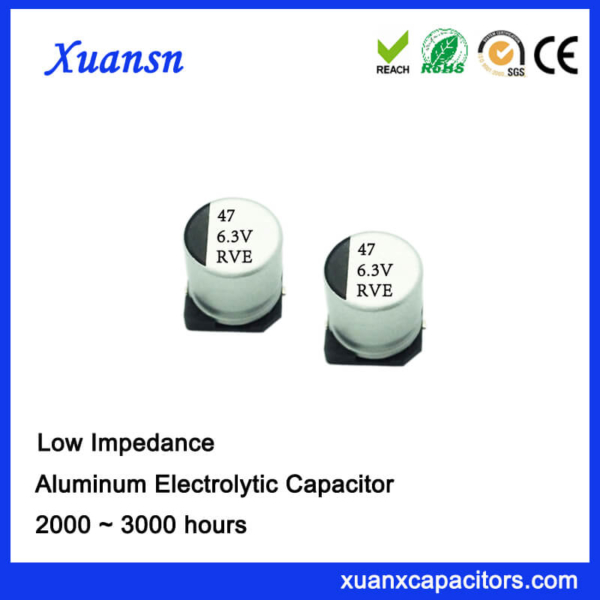 Chip High Frequency 47UF 6.3V Electrolytic Capacitor