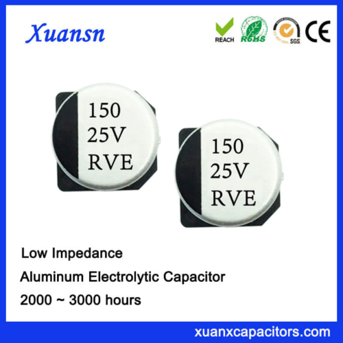150UF 25V High Stability High Frequency SMD Capacitor