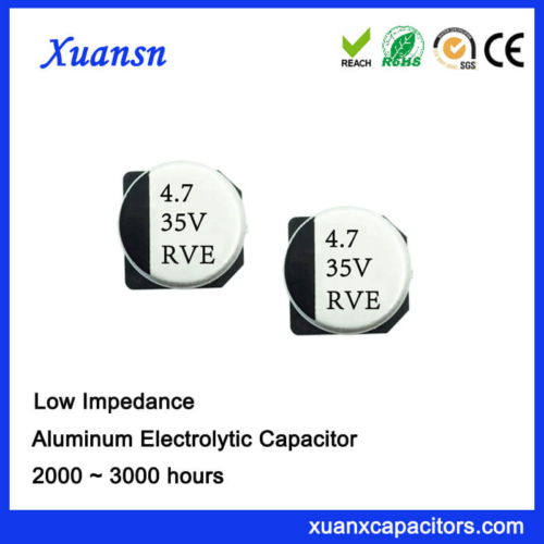 4.7UF 35V SMD High Frequency Low Impedance Capacitor