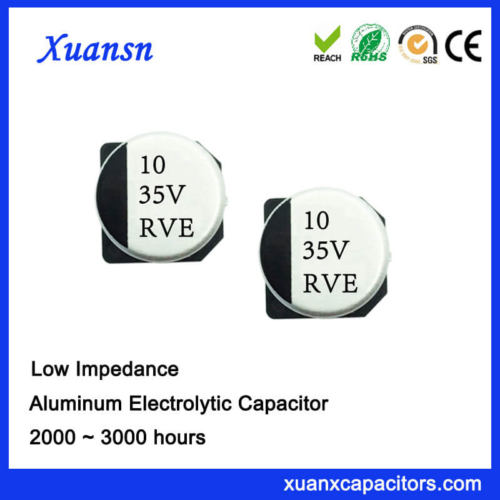 10UF 35V Hot Sale Chip Low Impedance Electrolytic Capacitor