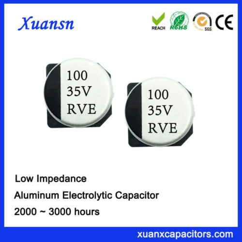 100UF 35V SMD Surface Mount High Frequency Capacitor