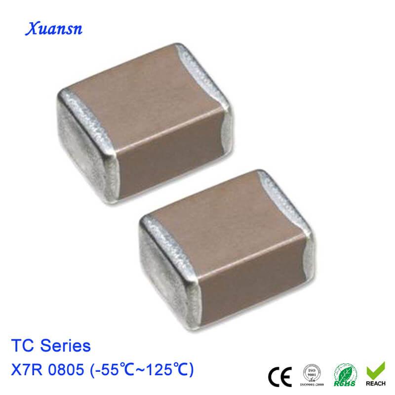 Mlcc Capacitor X7r 0805 25v 10uf Ceramic Capacitor