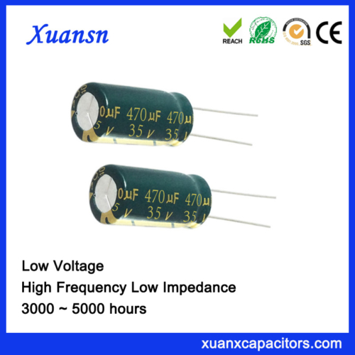 electrolytic capacitors for low pass filter