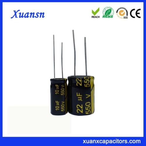 Radial Electrolytic Capacitor 550V