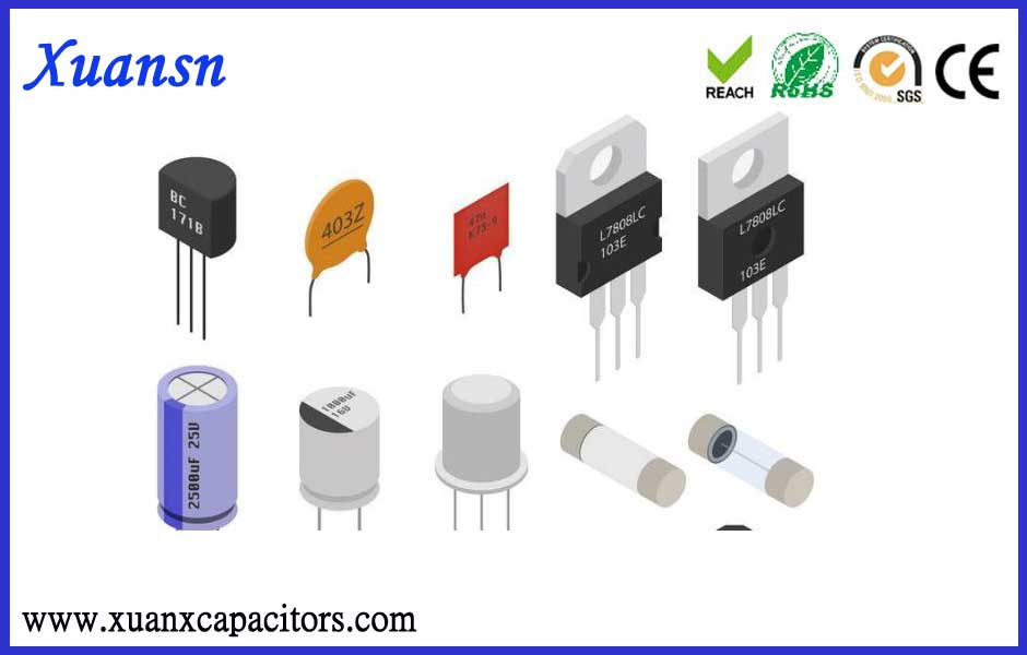 Top ten most commonly used electronic components list