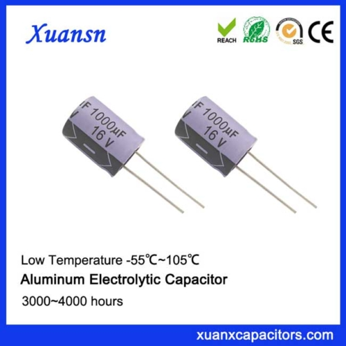 Purple shell electrolytic capacitor