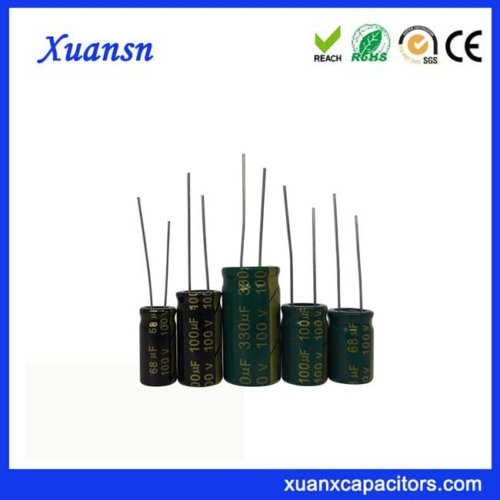 Electrolytic capacitor 100V