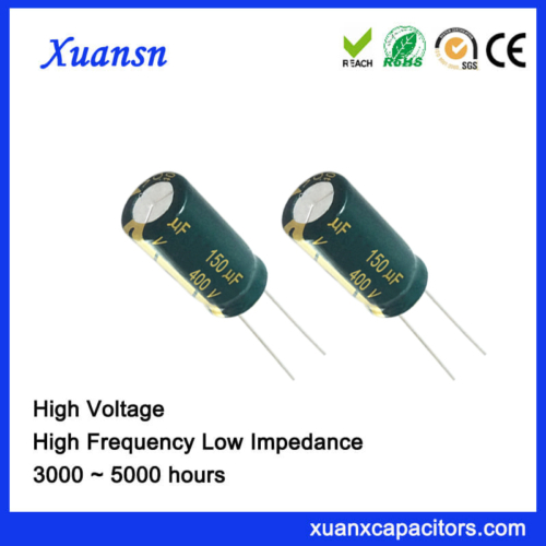 electrolytic capacitors 150uf400v