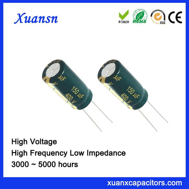 150uf 400v electrolytic capacitors