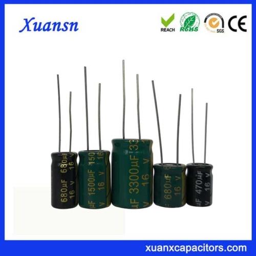 Electrolytic capacitor 16V