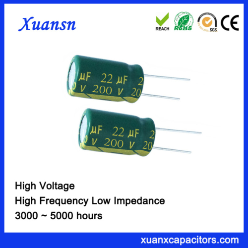 Audio Capacitor 22UF 200V