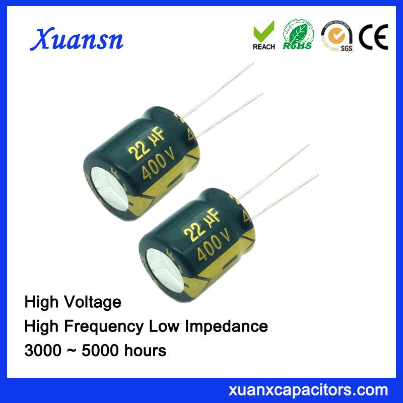 radial electrolytic capacitor 22uf400v