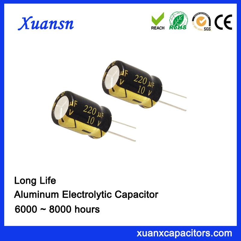 audio capacitor 220UF10V