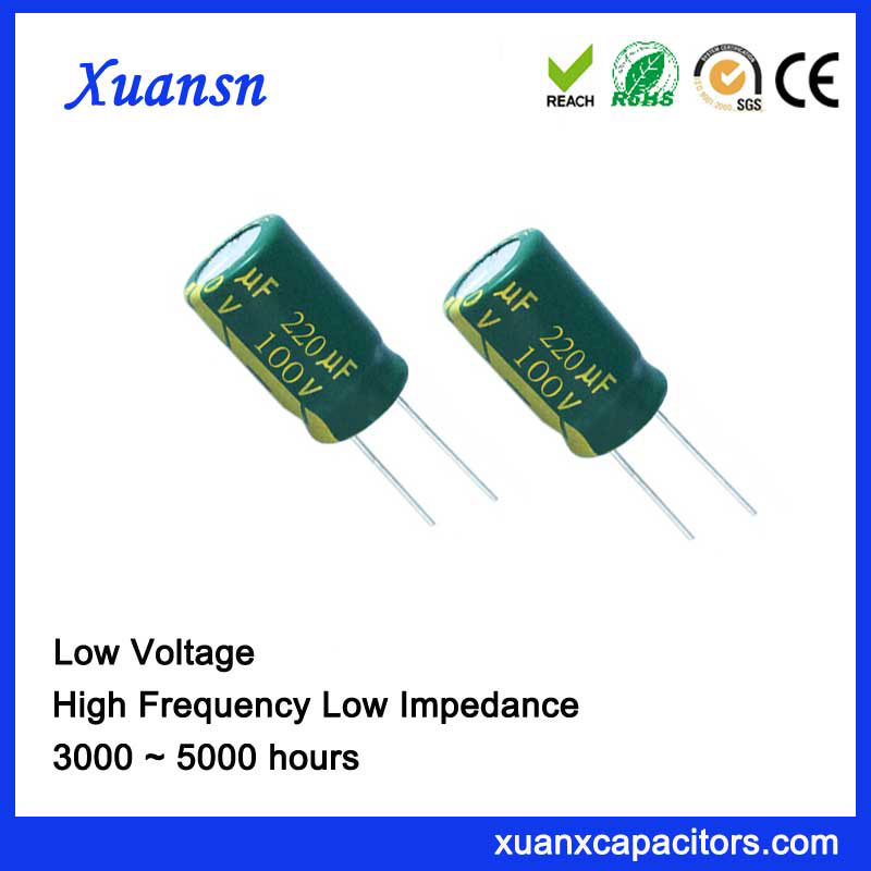 Capacitor At High Frequency