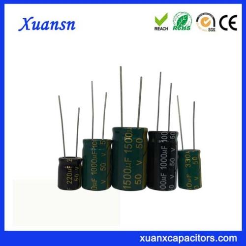 Electrolytic capacitor 50V