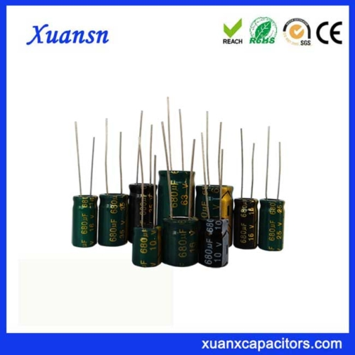 Electrolytic capacitor 680UF