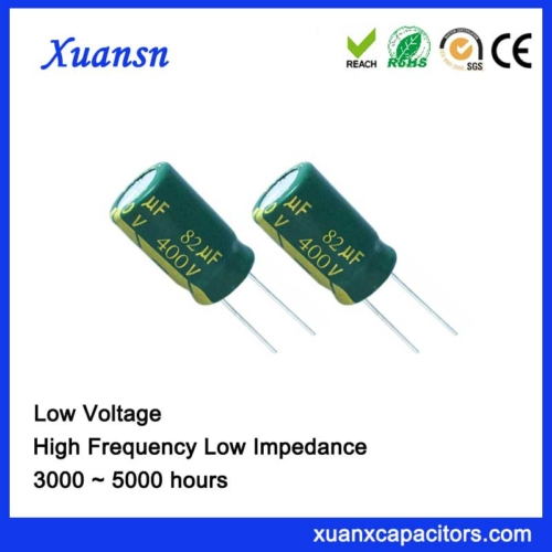 Fixed capacitor 82uf400v