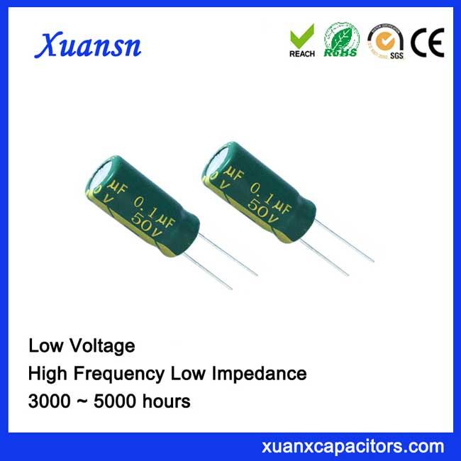 electrolytic capacitor 0.1uf 50v
