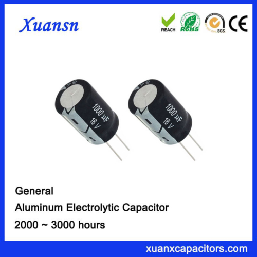 Electrolytic Capacitor For Digital Camera 1000uf16v