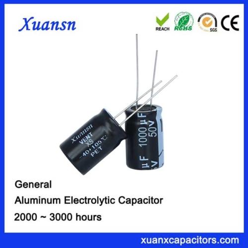 electrolytic capacitor 1000UF50V