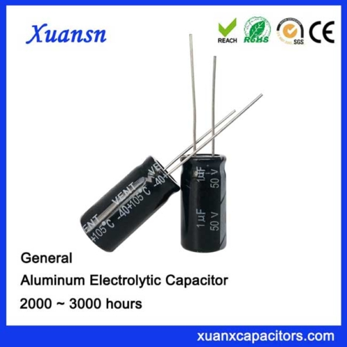 electrolytic capacitor 1uf50v