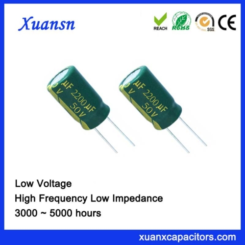 Low impedance capacitor 2200uf50v