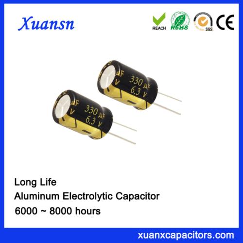 Electrolytic Capacitor 330uf6.3v