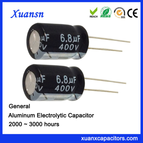 Electrolytic Capacitor For Charger 6.8uf400v