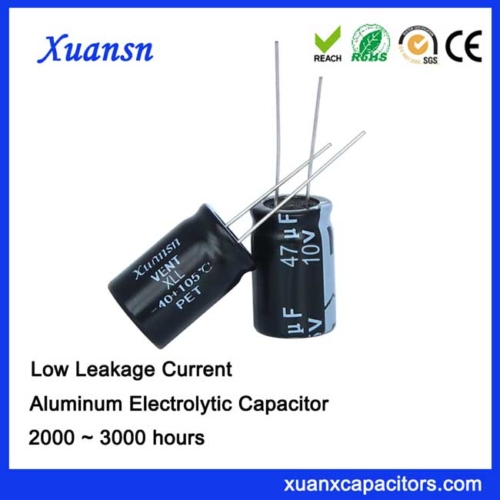 Low leakage current capacitor 47uf10v