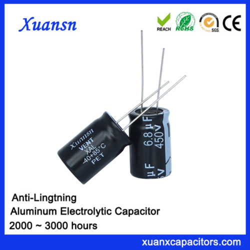 electric surge capacitor 6.8uf450v