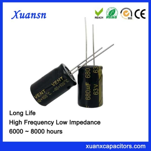 lighting electrolytic capacitor 680UF63V
