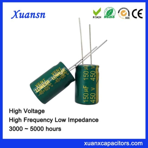 New Product electrolytic capacitor 150uf450v