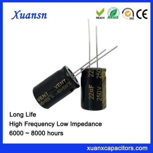 high voltage capacitor bank 22UF250V