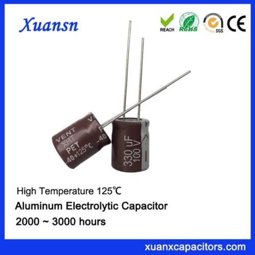125c capacitor 330uf100v