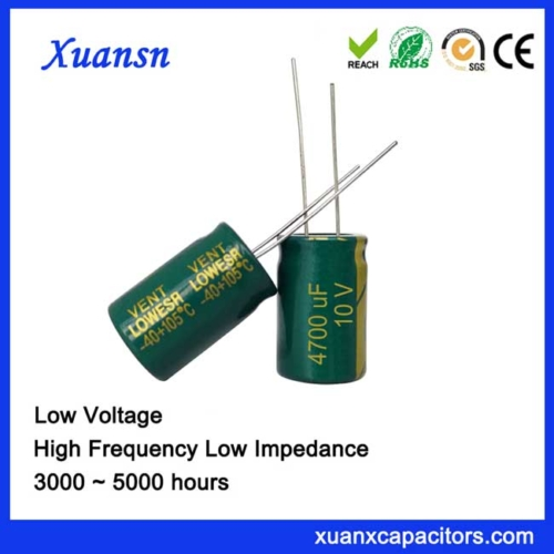 high capacitance capacitor 4700UF10V