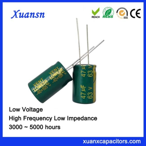 Bypass capacitor 47uf63v