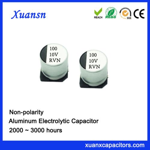 bipolar capacitor electrolytic 100uf10v