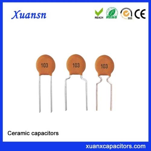 103k50v ceramic capacitor working voltage
