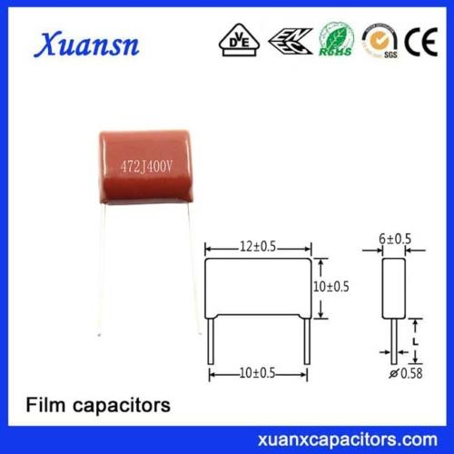 472J400V film capacitor advantages