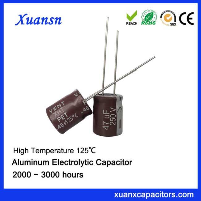 vehicle capacitor 47uf250v