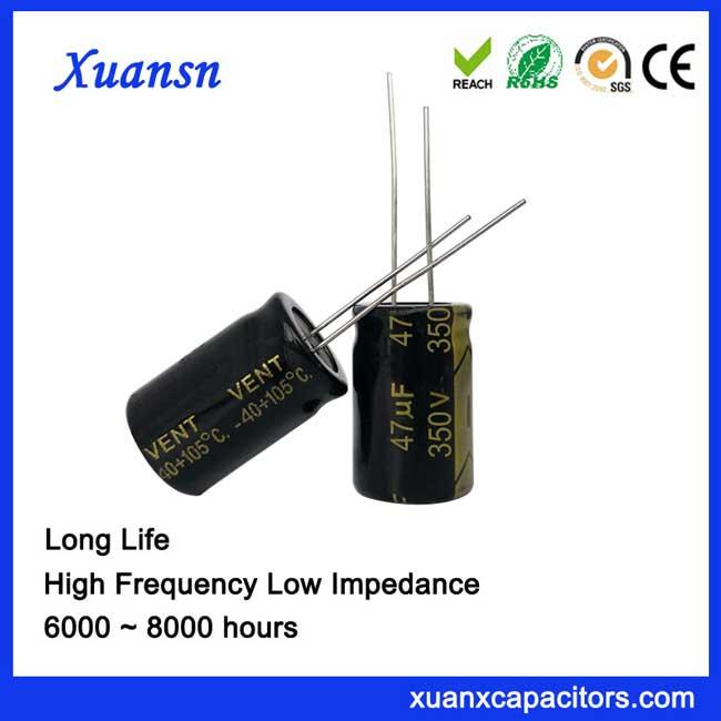 automotive grade capacitor 47uf350v