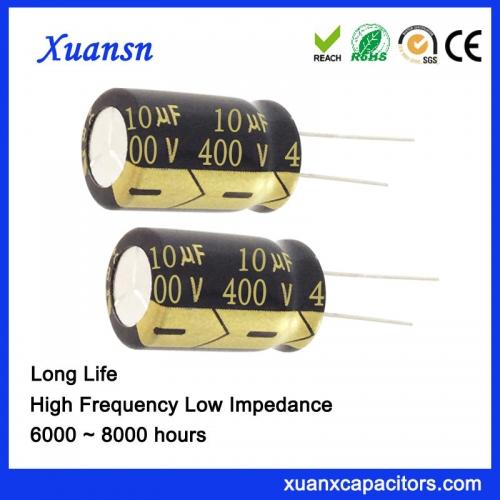 10uf 400v low loss capacitor manufacturer