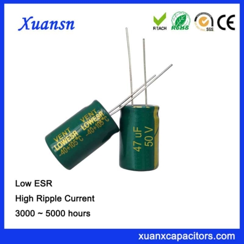 47uf 50v low esr capacitor switching power supply