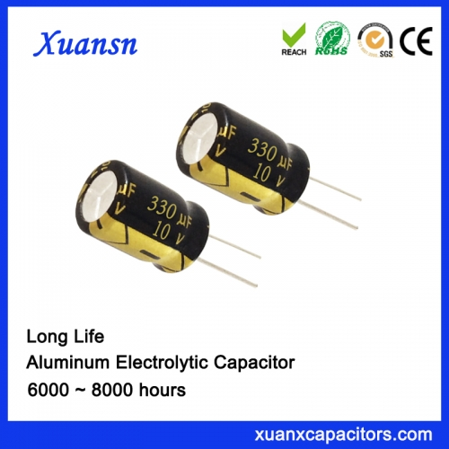 Outdoor Lighting Drive capacitor 330uf10v 5 year warranty