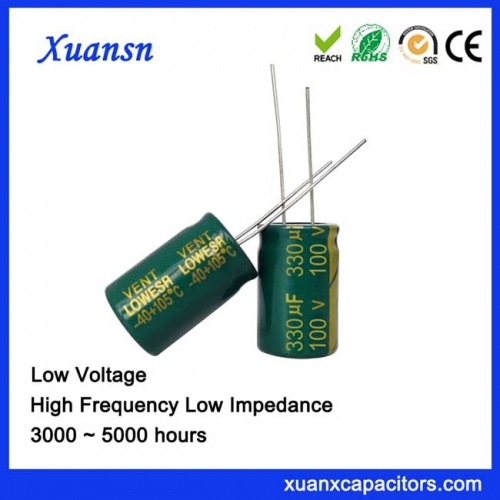 Filter Power Capacitor 330UF100V 5000Hours long life